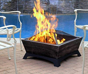 Jeco Hudson Outdoor Fire Pit, Multicolored: $55.69 (was$95.37)