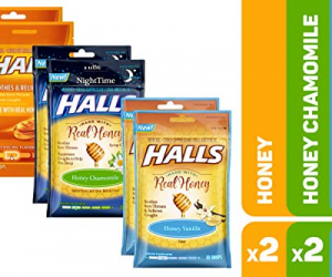 HALLS Honey Cough Drops Variety Pack: $6.73 (was$11.23)
