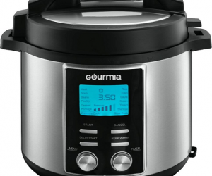 $49.99 (was $159.99) Gourmia – 8-Quart Pressure Cooker