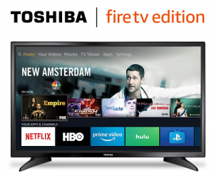 Toshiba 32-inch 720p HD Smart LED TV – Fire TV Edition: $99.99 (was $180.00)