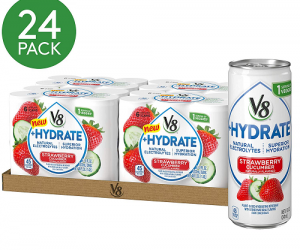 V8 +Hydrate Plant-Based Hydrating Beverage 8 oz. Can (Total of 24): $8.75 (was$15.92)