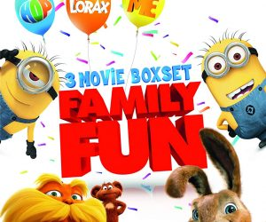3 Movie Boxed Set: Hop / Despicable Me / Dr. Seuss' The Lorax [Blu-ray]: $14.79