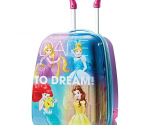 American Tourister Disney 18″ Hardside Upright Luggage Princess: $28.80 (was $59.99)