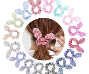 16 Pack Bunny Ears Scrunchies: $11.99 (was$15.99)