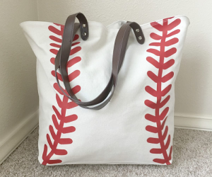 $14.49 (was $39.99) Super Large Sports Canvas Totes