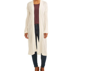 $10 (was $15.98): Women's Ribbed Duster Cardigan