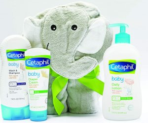 Cetaphil Baby Sensitive Skin Gift Set with Elephant Hoodie Towel: $13.00 (was $17.99)