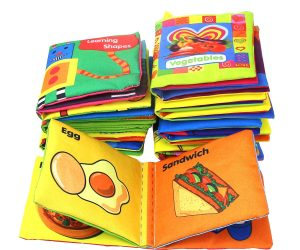 Set of 8 Baby's First Soft Cloth Books: $13.99 (was $18.99)