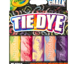 5ct. Crayola Washable Special Effects Tie Dye Sidewalk Chalk: $4.99