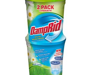 DampRid Moisture Absorber, Fresh Scent, 10.5-Ounce, 2-Pack: $4.53 (was $14.16)