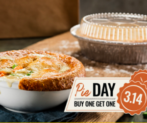 Pi Day Deal: Order a Chicken Pot Pie at Cheddars, Get a Free One to Bake Later!