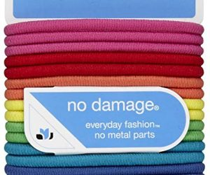 Scunci No Damage Elastic Hair Bands, Multi-Colored: $1.42 (was$3.00)