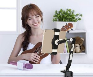 Aluminum Desk Mount Phone and Tablet Stand: $19.99 (was$31.99)