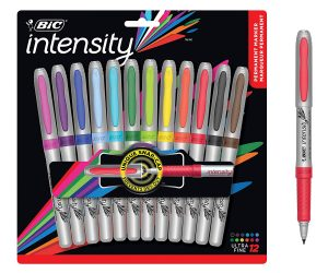 12-Count BIC Intensity Fashion Permanent Markers: $6.06 (was$15.45)