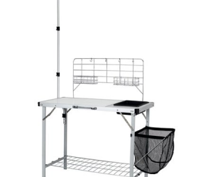 $49.99 (was $59.99): Portable Camp Kitchen and Sink Table