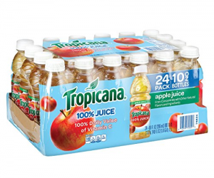 Tropicana Apple Juice, 10 oz., 24 Count: $9.08 (was $13.98)