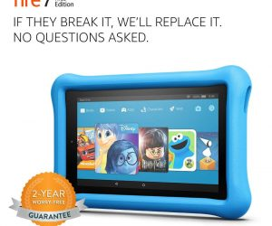 Fire 7 Kids Edition Tablet, Kid-Proof Case: $59.99 (was $99.99)