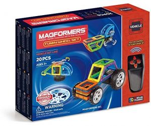 Magformers Funny Wheel (20 Piece) Set: $32.49 (was$79.99)