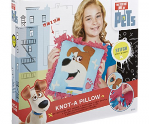 The Secret Life of Pets Knot-A Pillow: $6.99 (was$13.15)