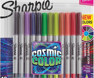 Sharpie Permanent Markers, Ultra Fine Point 12 Count: $7.00 (was$11.88)