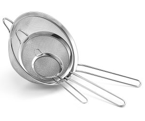 Cuisinart Set of 3 Fine Mesh Stainless Steel Strainers: $10.39 (was $22.00)