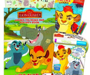 Disney Junior Lion Guard Jumbo Coloring and Activity Set: $6.95