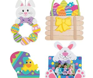MJM Crafts: Set of 4 Easter Craft Kits: $9.06 (was $19.99)