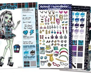 Fashion Angels Monster High Sticker Stylist: $7.94 (was $17.99)