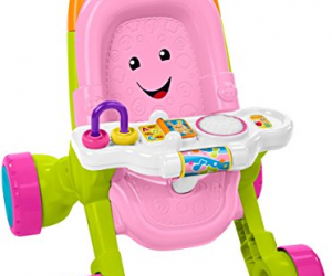 Fisher-Price Stroll & Learn Walker, Pink: $15.30 (was $21.49)