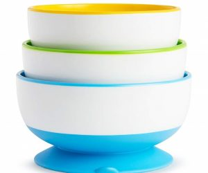 Munchkin Stay Put Suction Bowl, 3 Count: $7.95 (was$10.49)