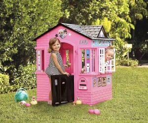 L.O.L. Surprise! Indoor & Outdoor Cottage Playhouse with Glitter: $79.99 (was$149.99)