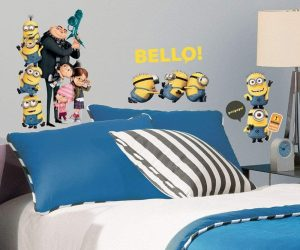 RoomMates Despicable Me 2 Peel And Stick Wall Decals: $5.18 (was$13.99)