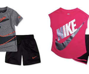 Stock Up For Summer: Nike and Jordan Shirt and Shorts Sets for $19.99