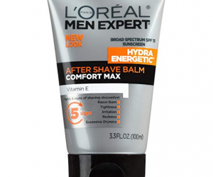 L'Oréal Paris Skincare Men Aftershave Balm: $4.49 (was $6.49)