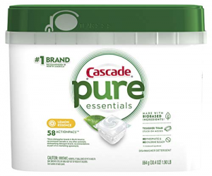 Cascade Pure Essentials Actionpacs, 58 Count: $9.99 (was $16.47)