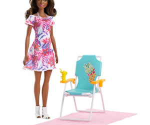 Barbie Beach Chair Doll: $8.73 (was $15.04)