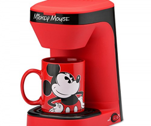 Disney Mickey Mouse 1-Cup Coffee Maker with Mug: $18.79 (was $24.99)