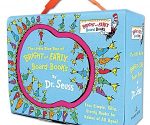The Little Blue Box of Bright and Early Board Books by Dr. Seuss: $10.99 After Coupon (was$19.96)