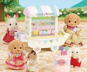 Calico Critters Candy Wagon: $7.47 (was $16.99)
