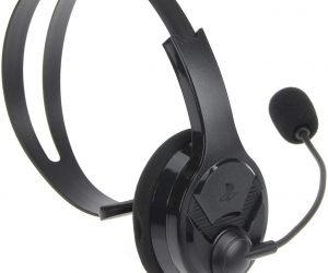 AmazonBasics Chat Headset for PlayStation 4: $5.87 (was $14.99)
