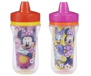 2 Pack Insulated Minnie Mouse Sippy Cups: $5.79 (was $9.99)