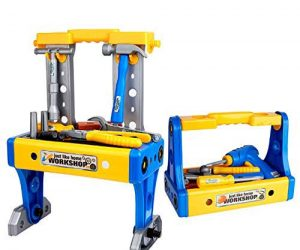 Kids Deluxe Toy Workbench Set: $11.00 (was $18.00)