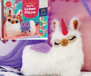 Klutz Sew Your Own Furry Llama Pillow Sewing & Craft Kit: $18.11 (was $21.99)
