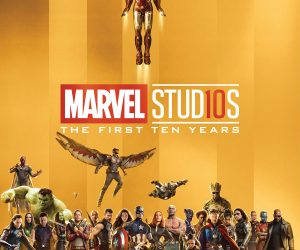 Marvel Studios: The First Ten Years (Hardcover): $17.70 (was $26.99)