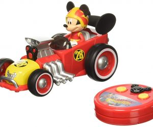 Jada Toys Disney Mickey Roadster Racer RC Vehicle: $9.99 (was $13.99)