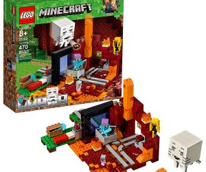 LEGO Minecraft The Nether Portal Building Kit (470 Piece): $31.99 (was $39.99)
