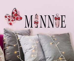 RoomMates Minnie Mouse Perfume Peel And Stick Wall Decals: $3.87 (was $15.99)