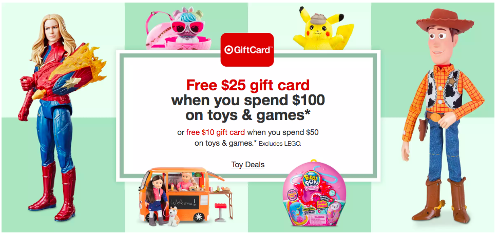 Target Toy Gift Card