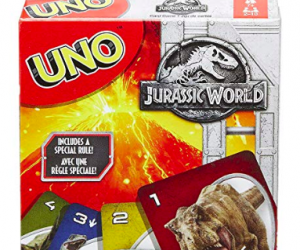 Mattel Jurassic World Uno Card Game: $3.47 (was $10.00)