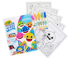 Crayola Color Wonder Baby Shark Coloring Book: $6.79 (was $7.99)